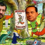 "Flat Tax, Berlusconi e Salvini ""Robin Hood"" al contrario"