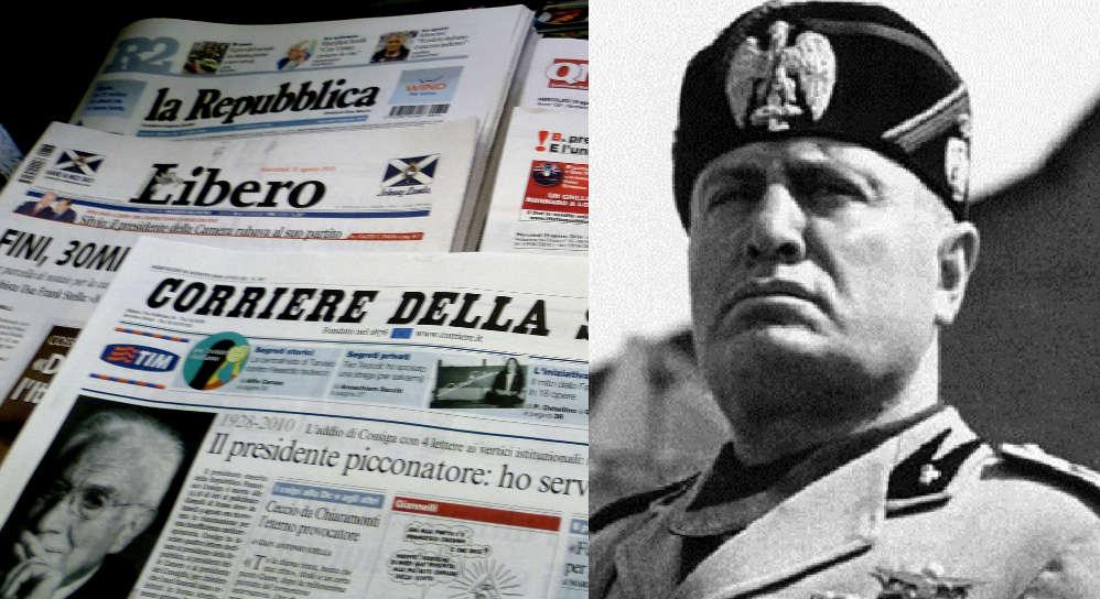stampa e norme fasciste
