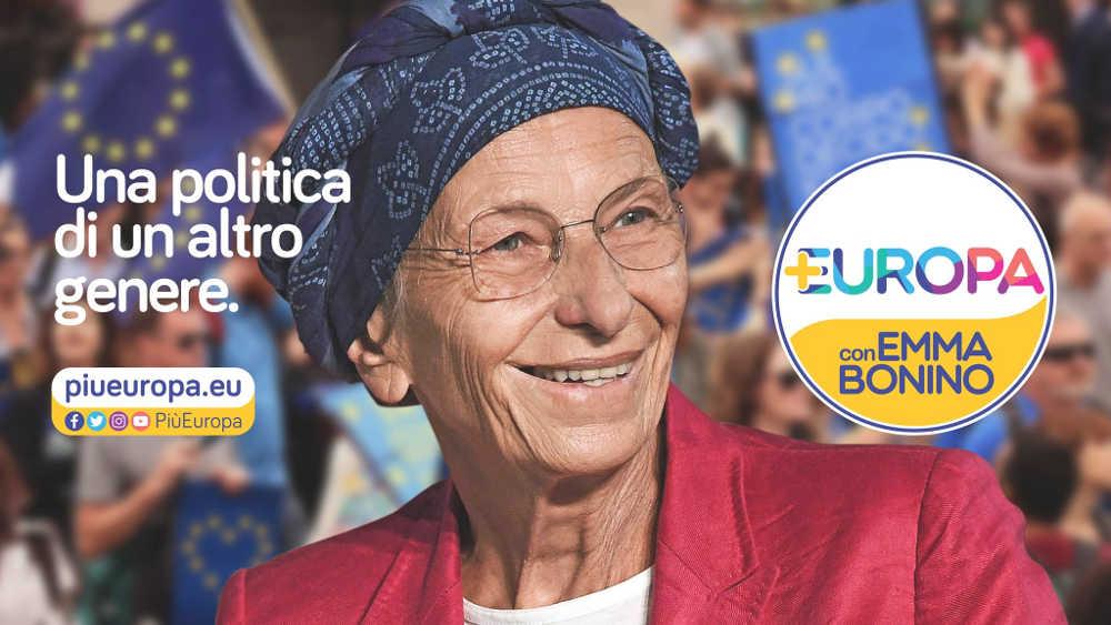 Emma Bonino +Europa