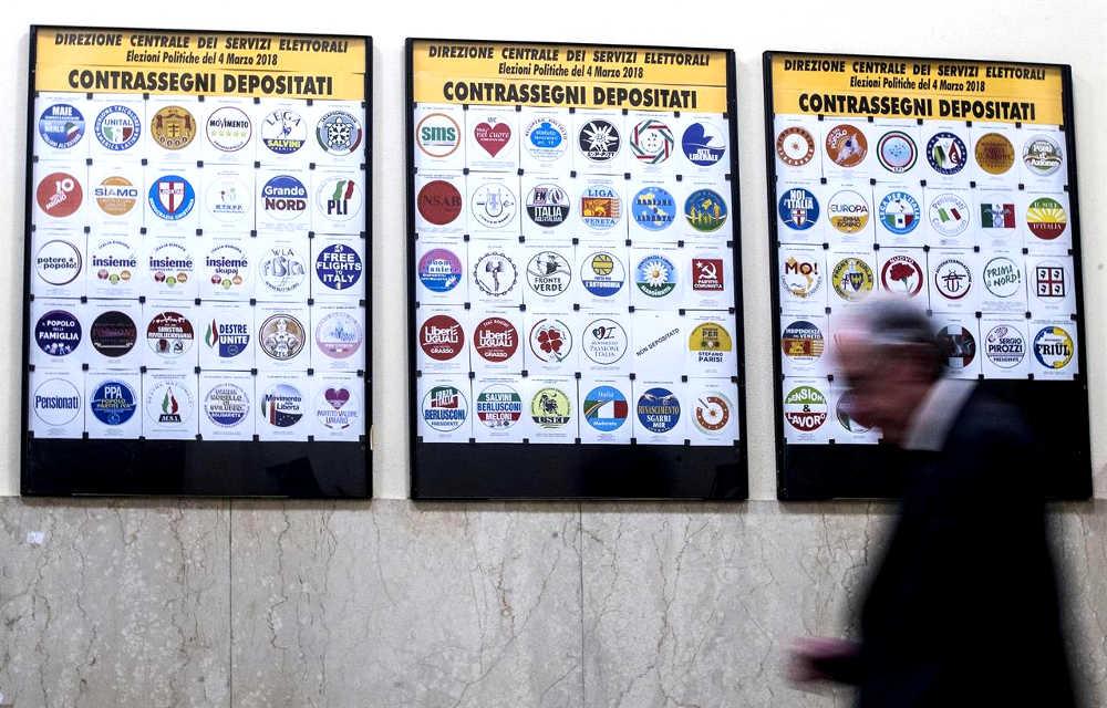 simboli elettorali partiti