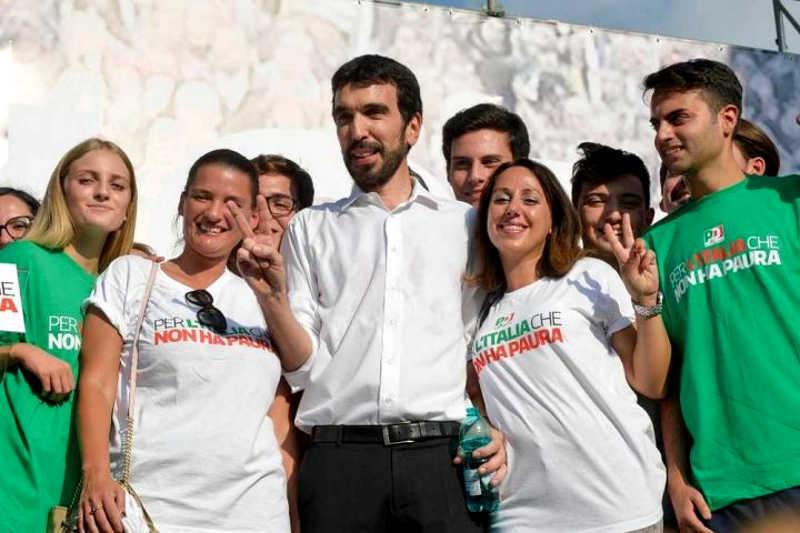 uno dei candidati alle primarie del PD, Maurizio-Martina