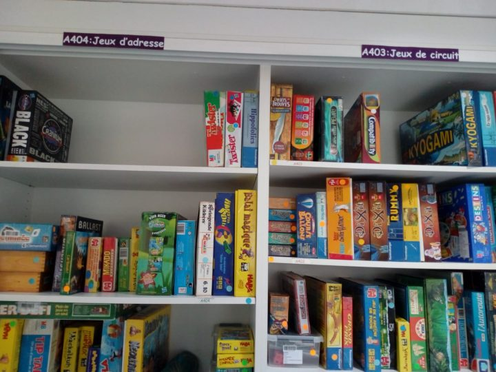 Biblioteca Schaerbeek - Ludoteca