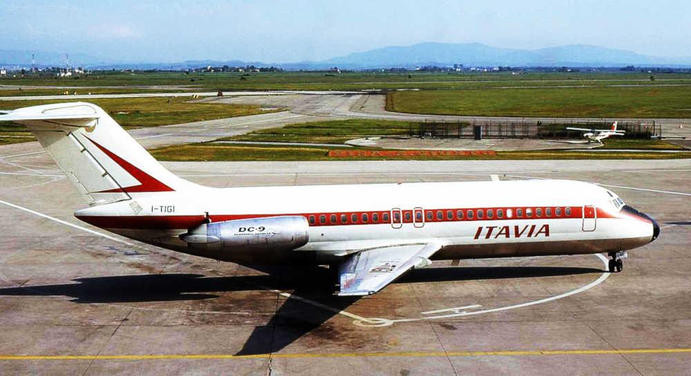 aereo Italia abbattuto nella strage di Ustica