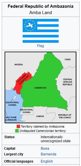 Ambazonia-Wikipedia