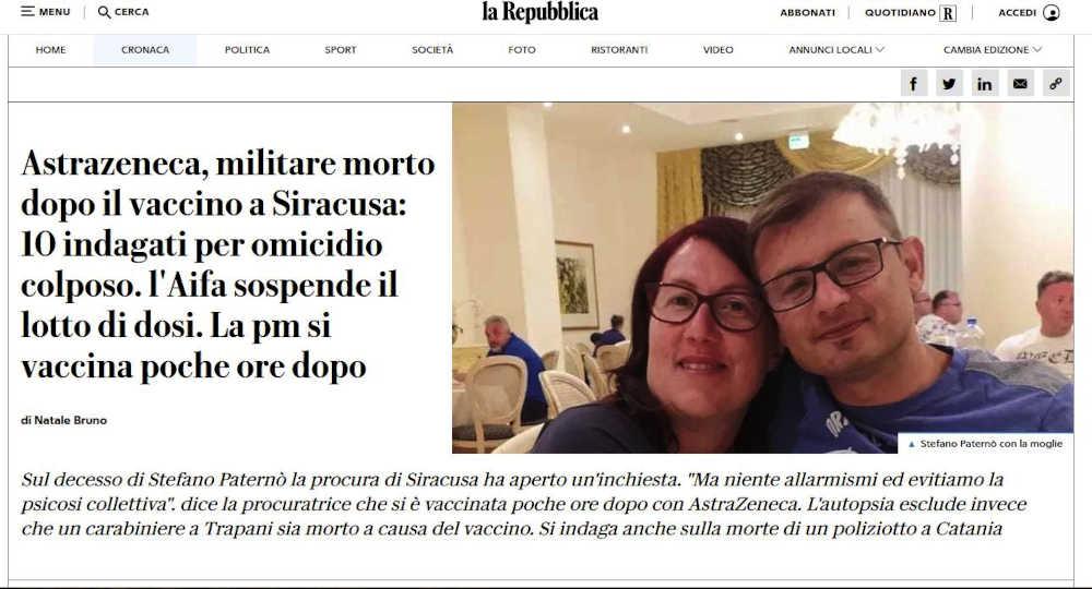 Repubblica-Morti-AstraZeneca